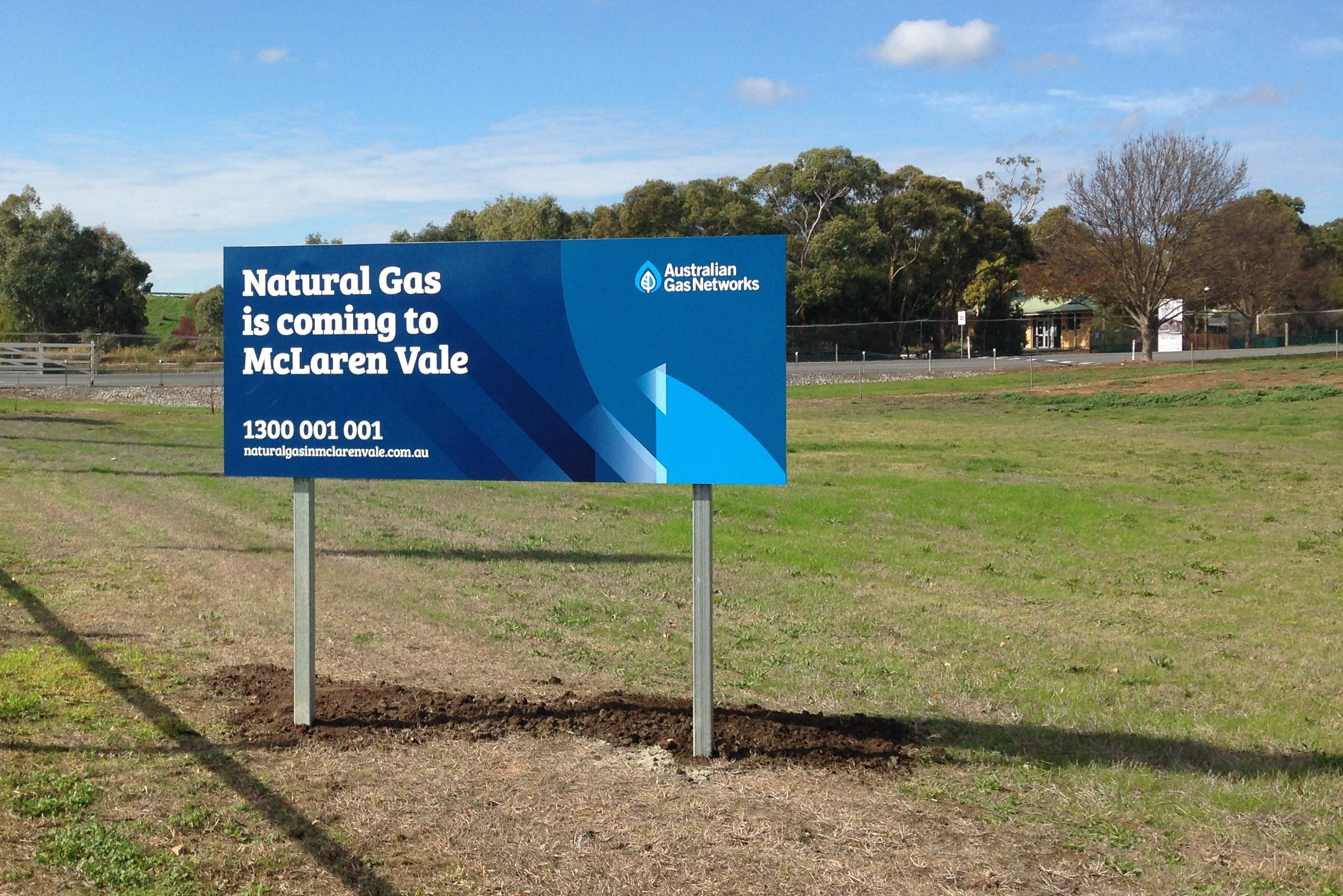 Natural gas in McLaren Vale